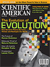 parution dans le magazine Scientific American